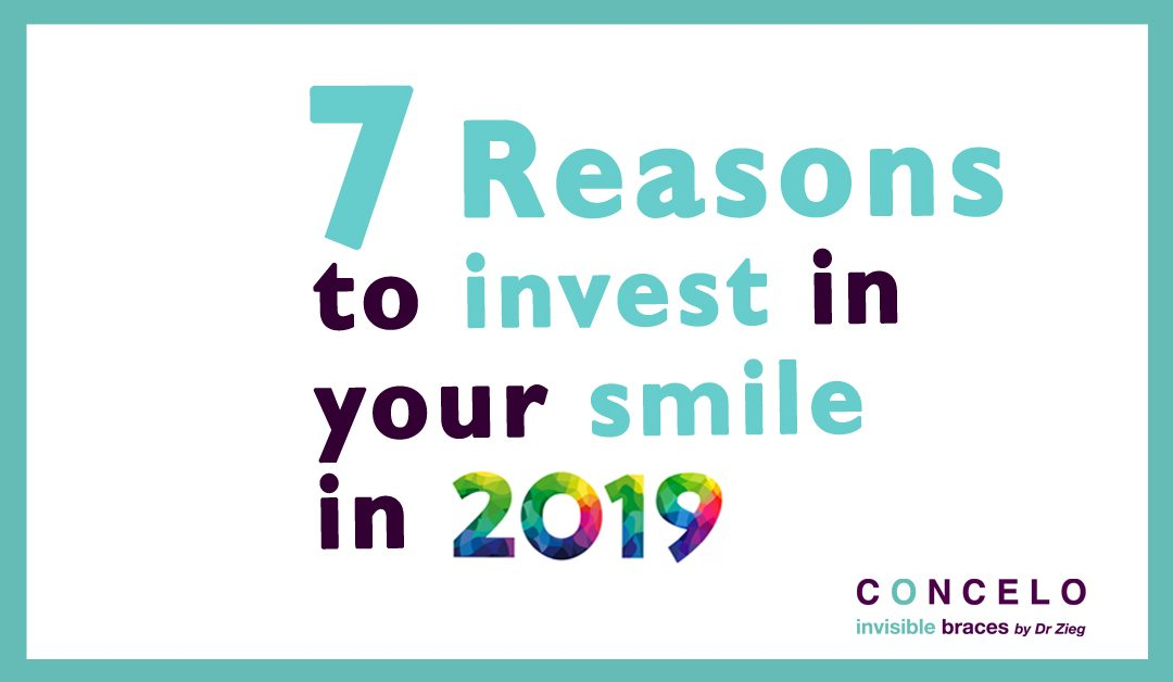 7 reasons to invest in your smile in 2019