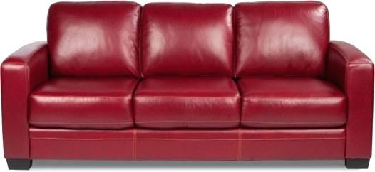 Fascinated Red Leather Sleeper Sofa Red Sofa Red Leather ...